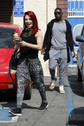 Sharna Burgess at Saturday Rehearsal at the DWTS Studio in Hollywood 4/30/2016