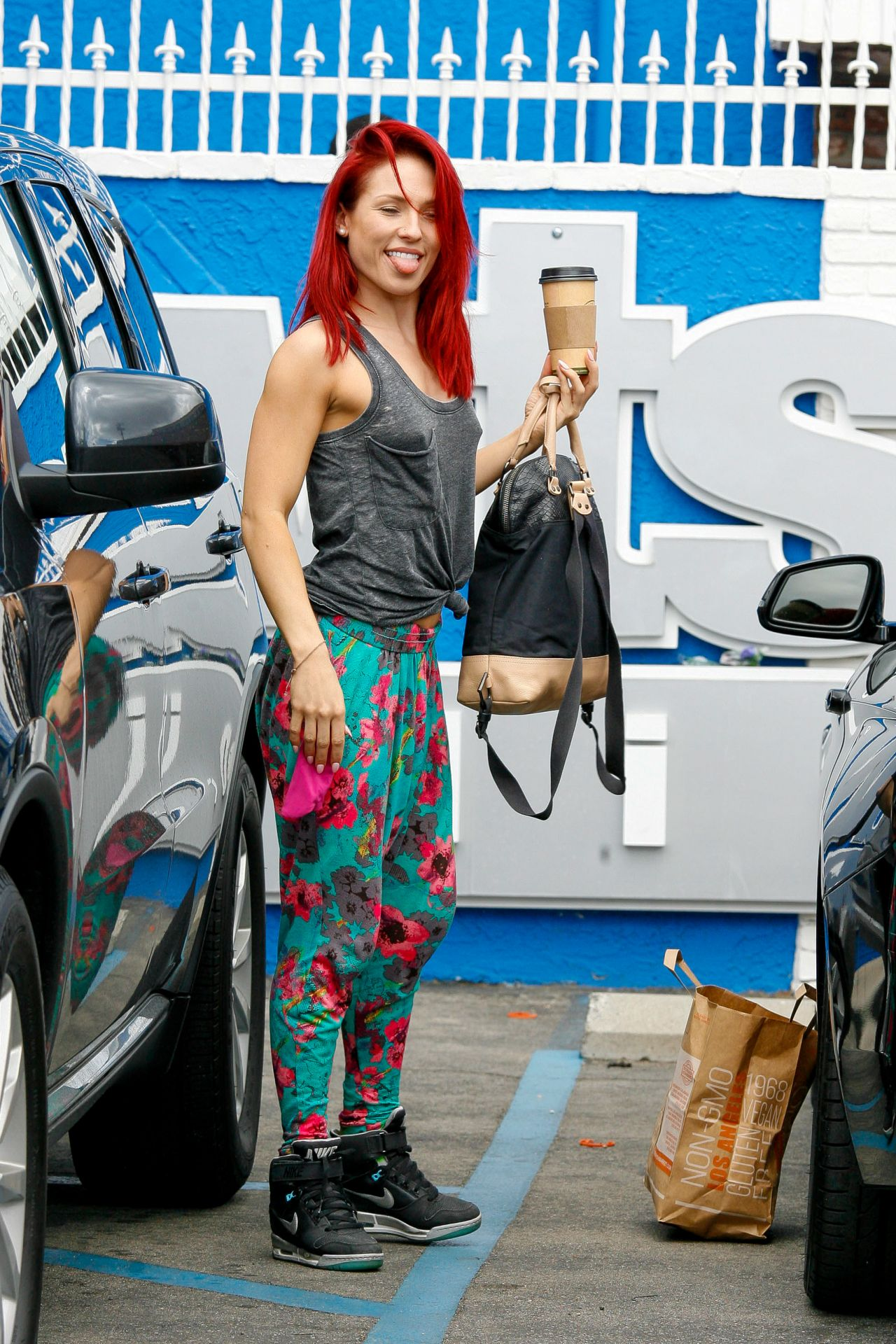 Sharna Burgess Dancing With The Stars Studio In
