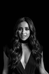 Shay Mitchell - AOL Build Portriats April 2016