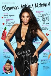 Shay Mitchell - Cosmopolitan Magazine June 2016 Issue