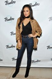 Shay Mitchell - Grand Opening of Bowlero in Playa del Rey 5/25/2016