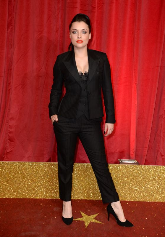 Shona McGarty – British Soap Awards 2016 in London, UK
