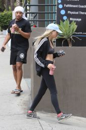 Sofia Richie in Tights - Out in West Hollywood 5/20/2016