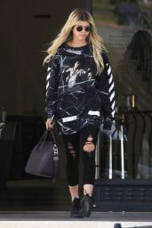Sofia Richie Urban Style - Shopping at Barneys New York in Beverly Hills 5/25/2016