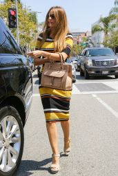 Sofia Vergara Chic Outfit - at La Scala in Beverly Hills 5/17/2016