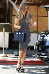 Sofia Vergara Fashion Star - at Il Pastaio in Beverly Hills 5/25/2016