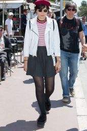 Soko Casual Chic Outfit - in Cannes, France 5/16/2016