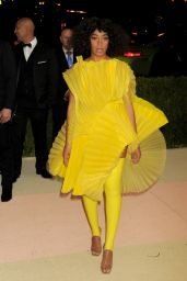 Solange Knowles – 2016 Met Gala Held at the Metropolitan Museum of Art New York