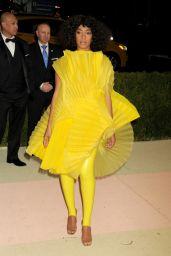 Solange Knowles – 2016 Met Gala Held at the Metropolitan Museum of Art New York