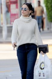 Sophia Bush Casual Style - Out & About 5/20/2016