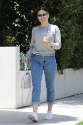 Sophia Bush Street Style - Out in LA 5/21/2016