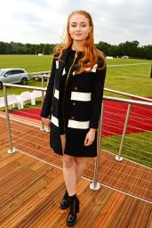 Sophie Turner - Audi Polo Challenge in Berkshire, UK 5/29/2016