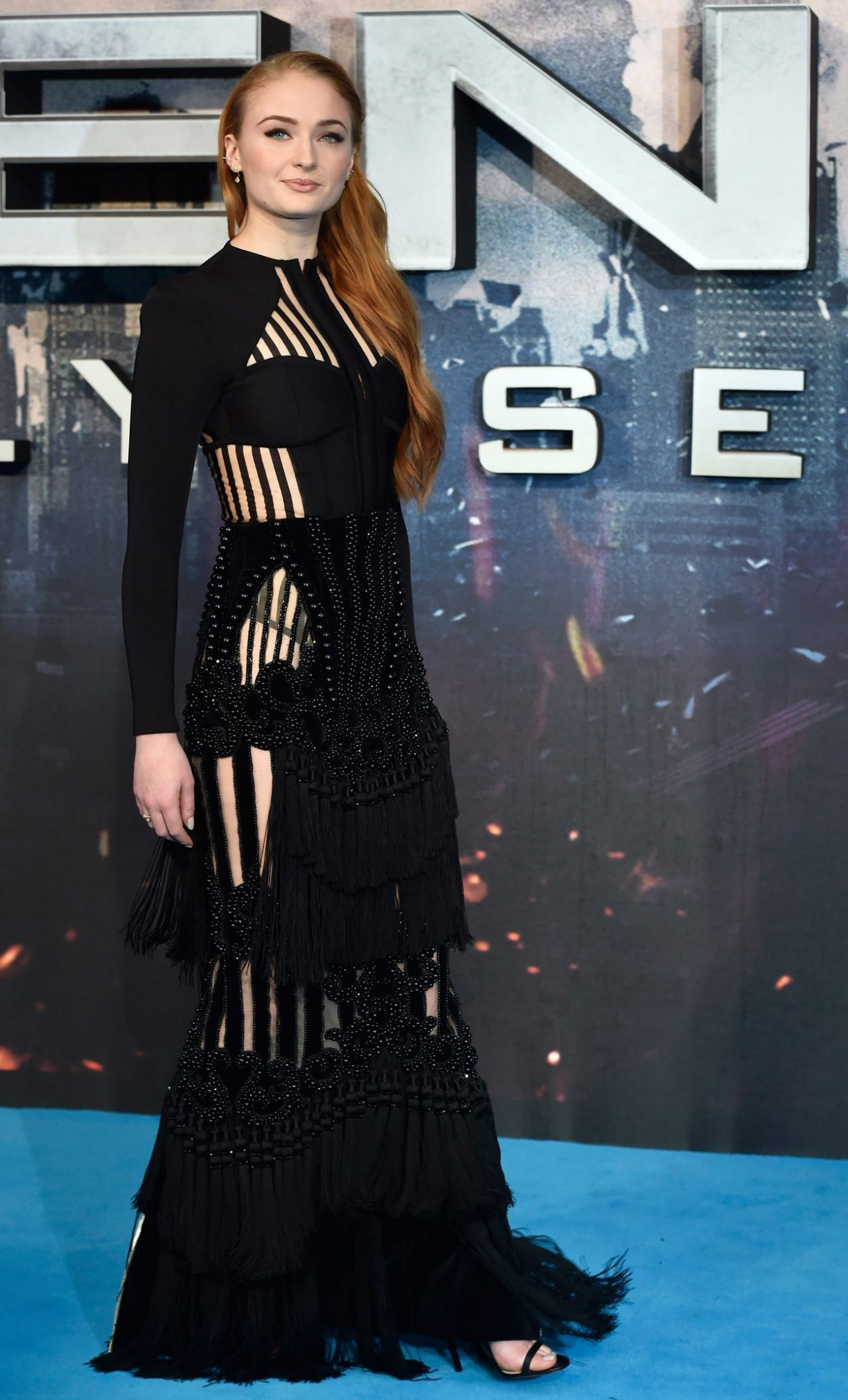 Sophie Turner X Men Apocalypse Premiere In London Uk 5