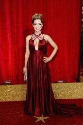 Stephanie Waring – British Soap Awards 2016 in London, UK