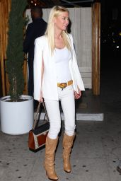 Tara Reid Fashion Style - After a Night Out at The Nice Guy in West Hollywood 5/24/2016