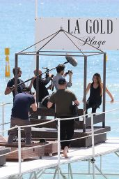Thylane Blondeau at La Plage - Cannes Film Festival in Cannes 5/13/2016