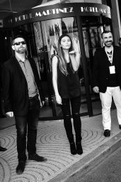 Thylane Blondeau - Meets fans Outside The Martinez Hotel in Cannes, France 5/14/2016