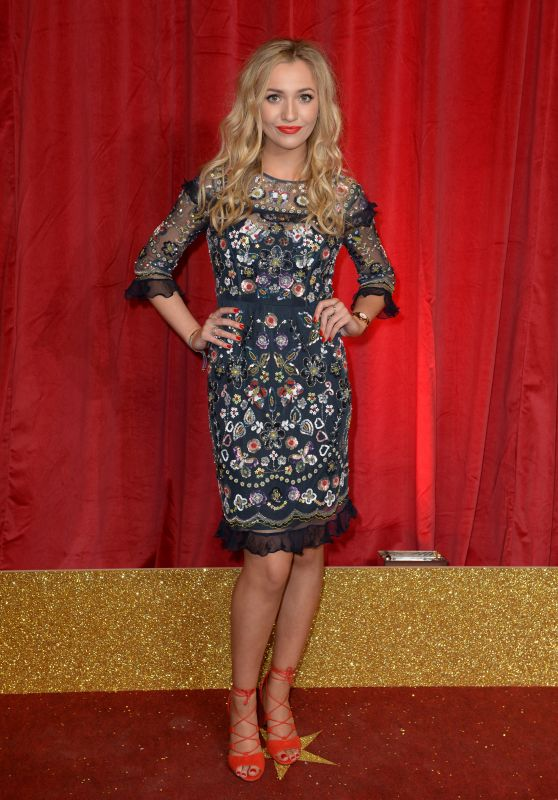 Tilly Keeper – British Soap Awards 2016 in London, UK