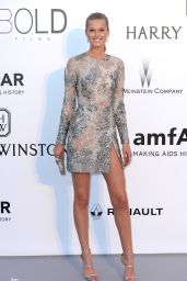 Toni Garrn – amfAR's Cinema Against AIDS Gala in Cap d'Antibes, France, 5/19/2016