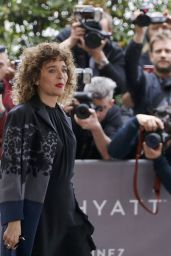 Valeria Golino - Arrives at Jury Members Welcome Cocktail at Hotel Martinez - 2016 Cannes Film Festival