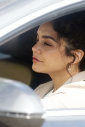 Vanessa Hudgens - Driving in West Hollywood 5/6/2016