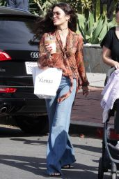 Vanessa Hudgens Urban Style - Stops For Coffee at Alfred Coffee on Melrose Place in West Hollywood 5/20/2016