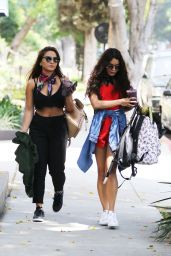 Vanessa & Stella Hudgens - Out in West Hollywood 5/13/2016