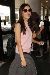 Victoria Justice at LAX AIrport in LA 5/26/2016