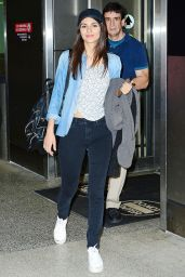 Victoria Justice Travel Outfit - at the Miami Airport 5/4/2016