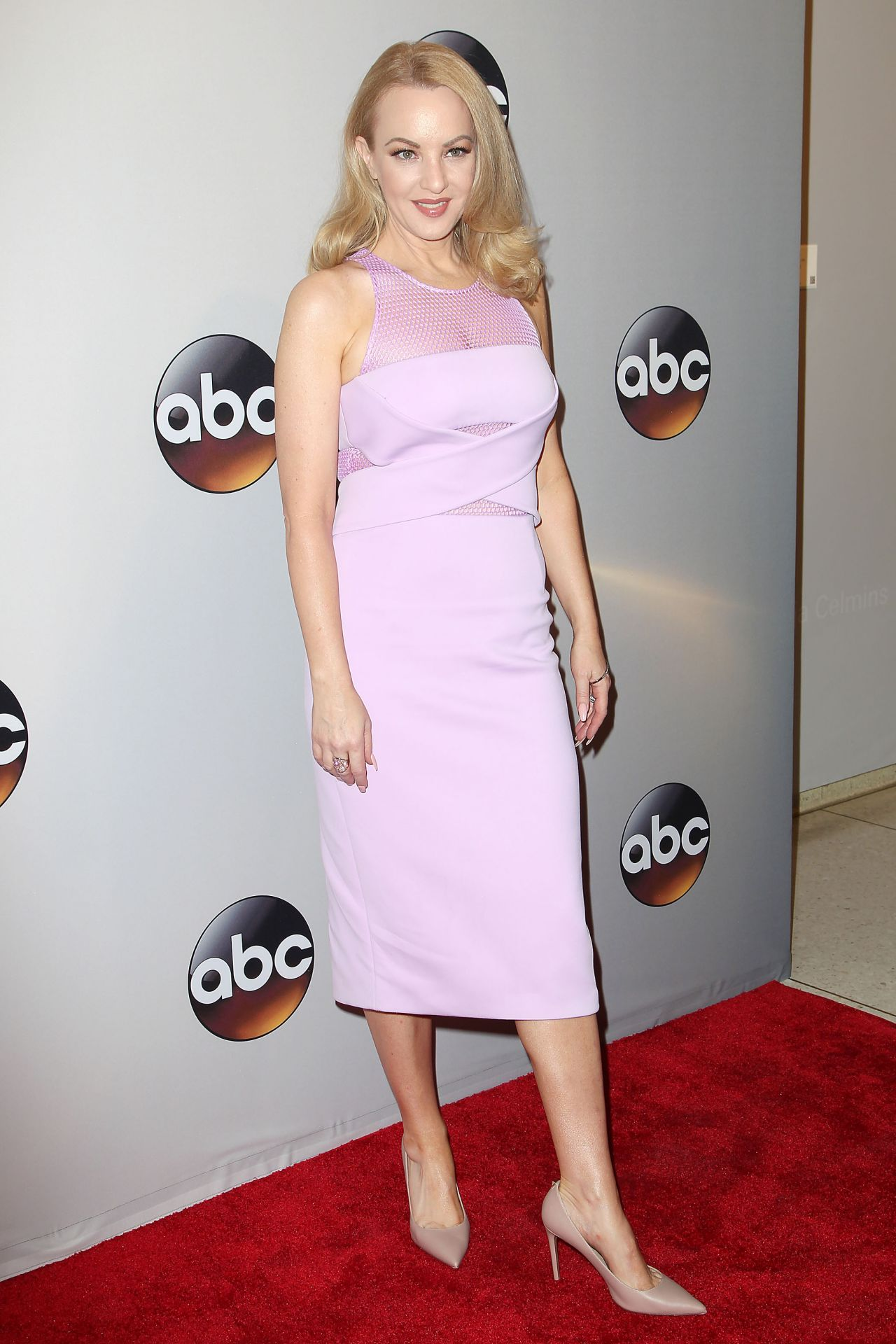 Wendi Mclendon Covey Abc Network 2016 Upfront