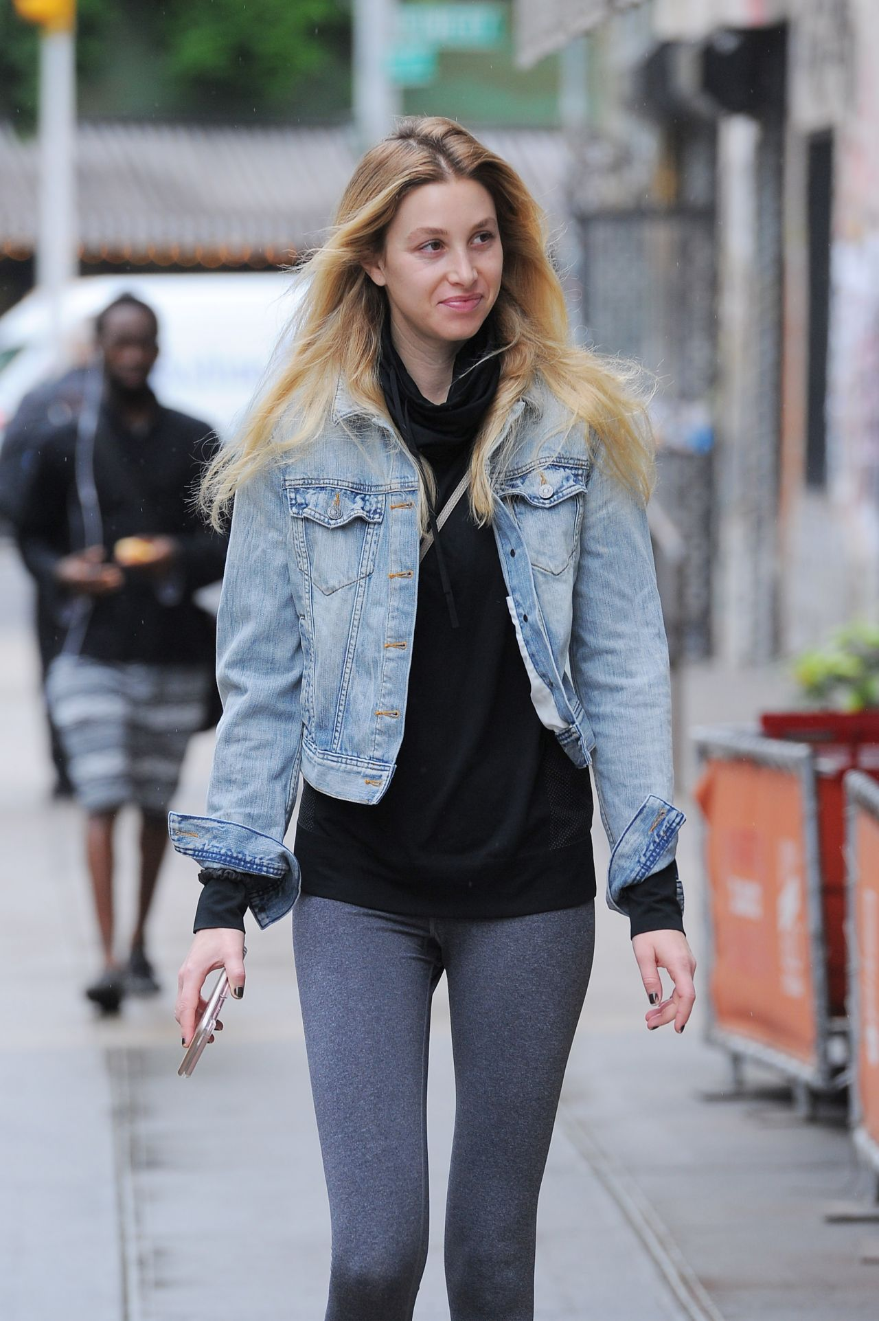 Whitney Port Street Style - Out in East Village, Manhattan ...