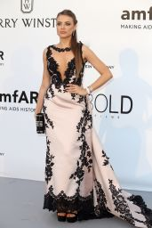 Xenia Tchoumitcheva – amfAR's Cinema Against AIDS Gala in Cap d'Antibes, France, 5/19/2016