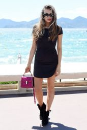 Xenia Tchoumitcheva Summer Outfit Ideas - Out in Cannes, France 5/19/2016