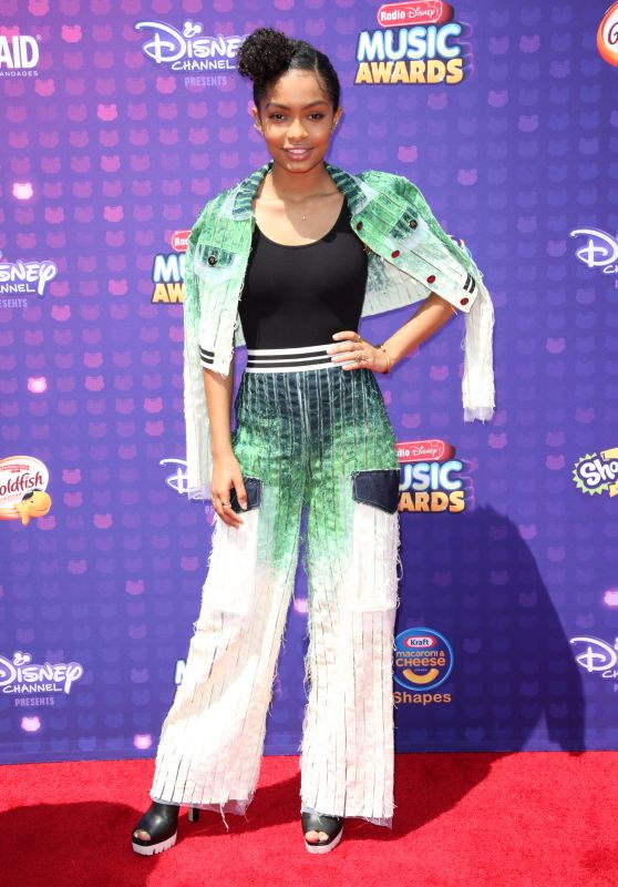 Yara Shahidi – 2016 Radio Disney Music Awards at Microsoft Theater in Hollywood