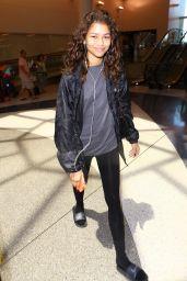 Zendaya Coleman at LAX Airport in LA 05/1/2016