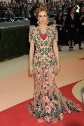 Zoey Deutch – Met Costume Institute Gala 2016 in New York