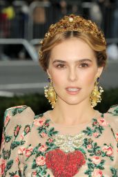 Zoey Deutch – Met Costume Institute Gala 2016 in New York