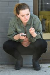 Abigail Breslin - Enjoys a Cigarette in West Hollywood 6/25/2016