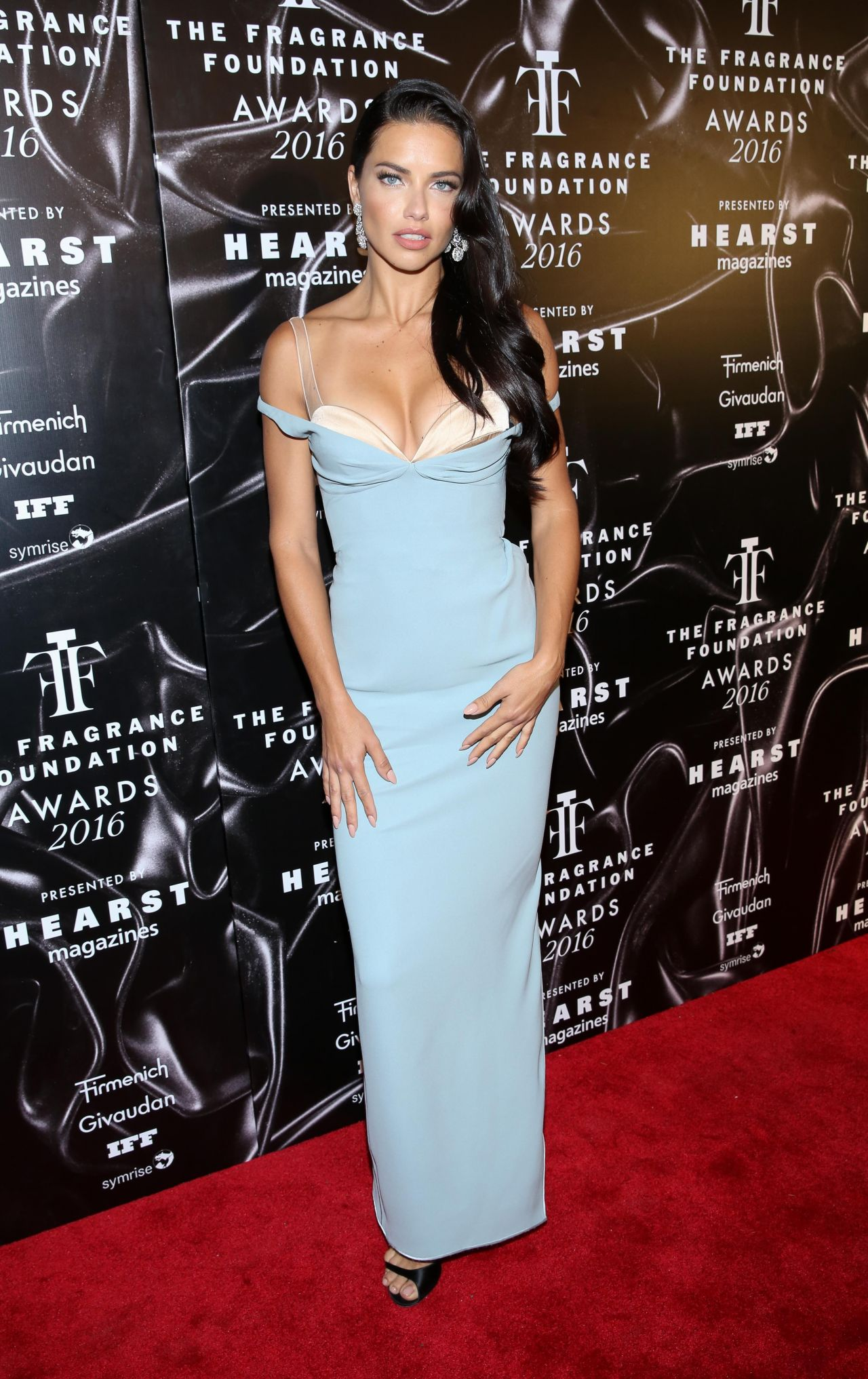 Adriana Lima 2016 Fragrance Foundation Awards In New