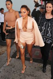 Adrienne Bailon – House of CB Flagship Store Launch in Los Angeles 6/14/2016
