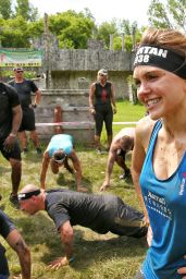 Aimee Teegarden - Competing in the Spartan Super Race in Richmond, Illinois 6/11/2016
