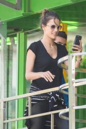 Alessandra Ambrosio - Enjoys a trip to Paris 6/26/2016