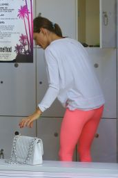 Alessandra Ambrosio in a Gym Locker Room in Los Angeles 6/2/2016