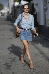 Alessandra Ambrosio is Looking All Stylish - Out in Los Angeles, June 2016