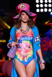 Alessandra Ambrosio – Moschino Resort 2017 LIVE Event in Los Angeles, June 2016