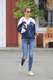Alessandra Ambrosio - Out in Brentwood 6/1/2016