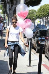 Alessandra Ambrosio - Out in Los Angeles, June 2016