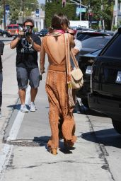 Alessandra Ambrosio Outfit Ideas - Out in West Hollywood 6/16/2016