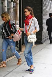 Alessandra Ambrosio Urban Outfit - Out in Los Angele 6/10/2016