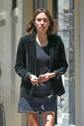 Alexa Chung Casual Outfit - Out in NYC 6/10/2016